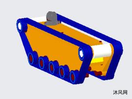 履带式管道机器人设计