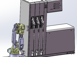 自动加油机器人