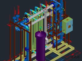 超滤装置三维图