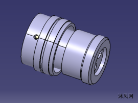 DCDC两芯连接器插头