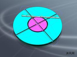 橢圓儀模型及運動仿真
