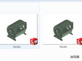 FS2.0S1  FS2.0S2   户式空调专用风机  2款