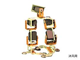 模块化机器人之简易步行机器人
