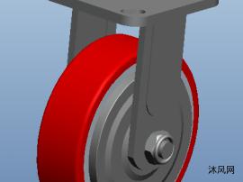 小型移动设备脚轮