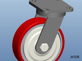 小型设备脚轮