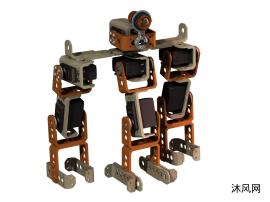模块化机器人之三足机器人