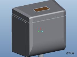 水箱三维模型图纸