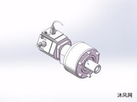8款  RS-N行程控制型回转油缸、液压缸