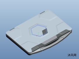 笔记本电脑三维模型图纸