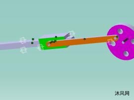 滑塊機構設計及有限元分析