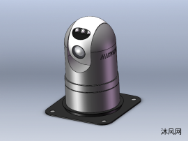 球型摄像头模型