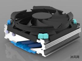 CPU散熱器建模