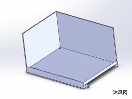 压铸机喷雾剩液盘钣金结构