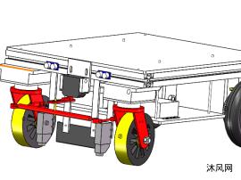 简易AGV小车