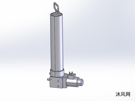 活塞泵模型图
