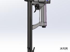 气动码钉模型