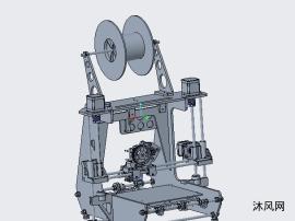 精密3D打印机结构3D
