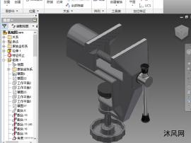 桌夾臺虎鉗-實物測繪-3D打印
