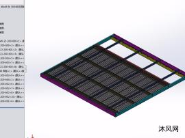 一款共用版的网板焊接治具