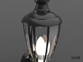 壁挂灯模型