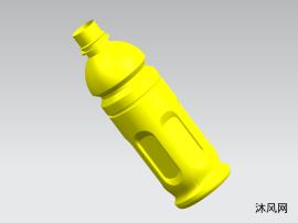 UG11.0 飲料瓶模型 三維圖