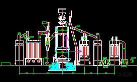 4.6米炉管道安装图