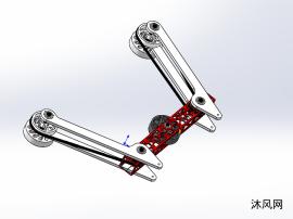 同步带轮机械夹爪设计