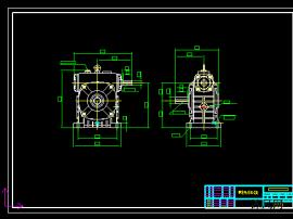 单段蜗轮减速机HW120-B