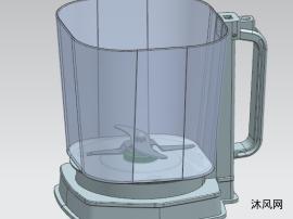 冰块搅拌机模型