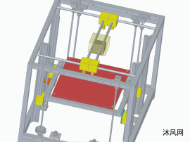 3d打印机solidedge模型设计