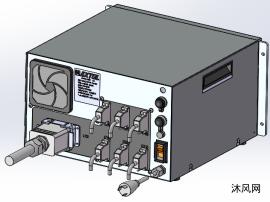 塑胶热铆机总控制器