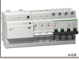 防雷保护器SPU3PN三维模型