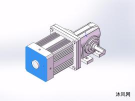 8款  GA型蜗轮减速马达  马达减速机