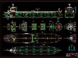 26000DWT油船设计