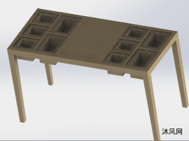 模块化桌子