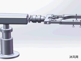 SW夹轮廓机械手