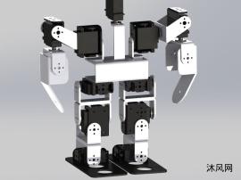 13自由度双足机器人