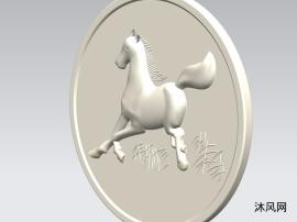 动物玩具硬币马