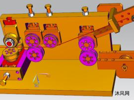 磨床三维模型