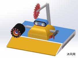 solidworks战斗机器人