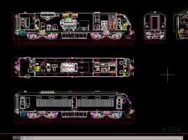 动车组动车方案总图设计