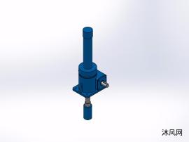 7款  JWM010DS梯形丝杆型升降机 丝杆升降机
