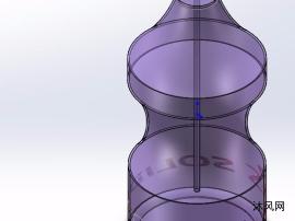 紫色實用津威瓶