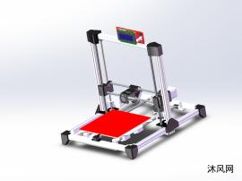 3D打印机Prusa I3全套总装