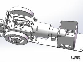 斯特林发动机建模图