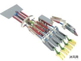 机械手掌结构设计模型