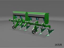 3ZF-6型中耕施肥机