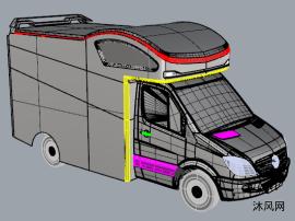 C型房车外观设计