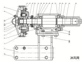 拖拉机前动力输出装置