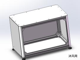 鋁型材組合柜模型圖